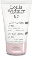 Louis Widmer Handbalsam UV 10 leicht parfümiert (50 ml)