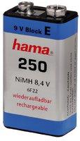 Hama NiMH-Akku 9V-E-Block 250 mAh