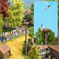Busch Fliegender Storch mit Nest (5481)