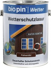 biopin Wetterschutzlasur 2,5 l ( diverse Dekore)