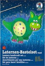 Buntpapierfabrik Ludwig Bähr Laternen-Bastelset rund - Dino