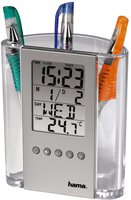 Hama LCD-Thermometer & Stifthalter