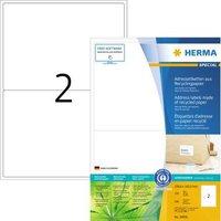 Herma Adressetiketten, 199,6 x 143,5 mm, naturweiß (10830)