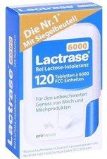 Pro Natura Lactrase 5000 FCC Tabletten im Klickspender (120 Stk.)