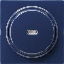Gira Tast-Kontrollschalter, blau 012246