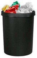 Helit Gross-Papierkorb 45 L (61062) schwarz
