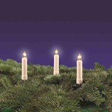 Rotpfeil LED-Lichterkette 15er außen klar elfenbein