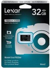 Lexar Memory Stick PRO Duo Premium 32GB