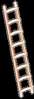 layher Holzdachdeckerleiter 1046 12 Sprossen