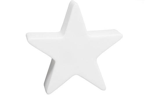 8 seasons Leuchtfigur Shining Star 80cm weiß (32073)