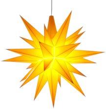 Herrnhuter Sterne Außenbereich gelb