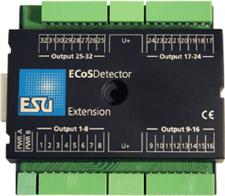 ESU ECoSDetector Output Extension Erweiterungsmodul (50095)