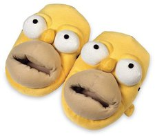 United Labels Homer Simpson 3-D-Slipper