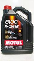 Motul 8100 X-clean 5W-30 (5 l)