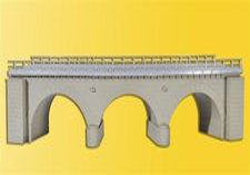 Kibri Steinbogenbrücke eingleisig (39722)