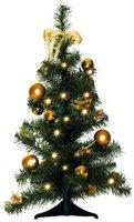 Best Season LED Weihnachtsbaum geschmückt 60 cm gold (004-62)