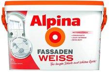 Alpina Farben FassadenWeiss 2,5 Liter
