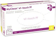 MaiMed MyClean Vi-touch Vinylhandschuhe puderfrei Gr. M (100 Stk.)