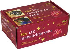 Idena LED Lichterkette 50er bunt (8325055)