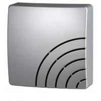 Kopp Zweiklang-Gong Quadrat, silber (291720029)