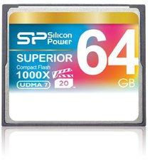 Silicon Power Compact Flash Card 64 GB 1000x