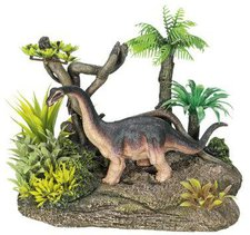 "Nobby 28290 Aqua Ornaments  ""Dinosaurier "" mit Pflanzen"