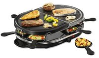 Princess Classic Stone Raclette & Grill Set (162250)