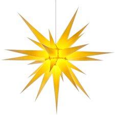Herrnhuter Sterne Innenbereich gelb