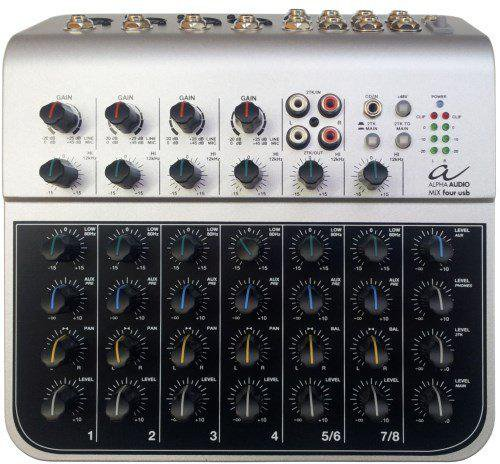Alpha Audio MIX four usb