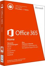 Microsoft MS Office 365 Home Premium PKC (Win) (DE)