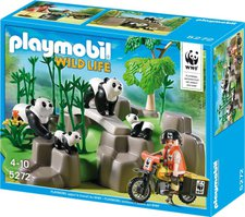Playmobil Wild Life - WWF-Pandaforscher im Bambuswald (5272)