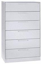 CP Möbelsysteme Asisto Karteischrank 6 Schübe DIN A5