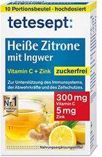 tetesept Heisse Zitrone mit Ingwer Pulver (12 Stk.)