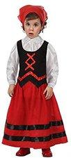 Atosa Hirten Kostüm für Mädchen