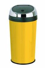 Premier Housewares Abfalleimer mit Klappdeckel (30 L) gelb