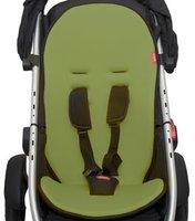 Phil & Teds Cushy Ride Sitzkissen für den Hauptsitz grün