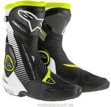 Alpinestars S-MX Plus Boot schwarz/weiss/rot/gelb