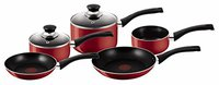 Tefal Bistro Red Kochgeschirr-Set 5 tlg.
