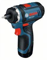 Bosch GSR 10,8-LI Professional 2 x 2,0 Ah + L-Boxx (0 601 992 909)