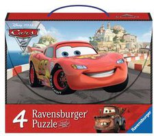Ravensburger Disney Cars 2 - Abenteuer mit Cars 4-in-1 (2 x 64, 2 x 81 Teile)