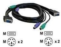 MicroConnect KVM-Kabel, 1,8m, no pin 9 (PC99A018-9)