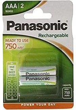 Panasonic AAA Micro NiMH Akku 1,2V 800 mAh (2 St.)