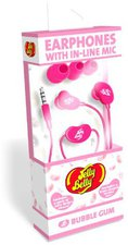 Jelly Belly Earphones with In-Line Mic