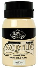 Royal & Langnickel Essentials Acrylfarbe 500 ml neapelgelb