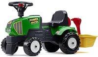 Falquet & Cie Traktor Baby Power Master mit Schaufel und Anhänger