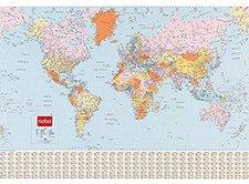NOBO Weltkarte 1:34.000.000