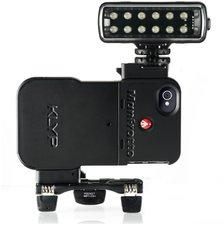 Manfrotto KLYP Hülle für iPhone 4/4S inkl. ML120 LED Dauerlicht & Pocket Stativ