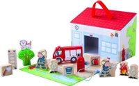 Haba Meine erste Spielwelt Stadt - Großes Spielset Feuerwehr (5783)