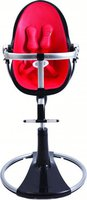 bloom Fresco Chrome Black - Rock Red