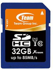 Team Group SDHC Xtreem 32GB Class 10 UHS-I (MCTG-005)